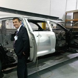 Anthony and Joanne visit Limousine Factory