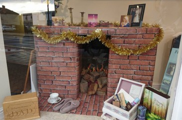 Our Stapleford Window is ready for Christmas