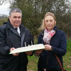 Alan visits new Natural Burial Ground