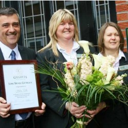 Helen celebrates 20 years with Gillotts