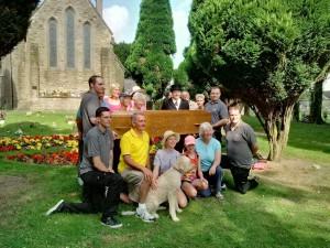 2016 coffin walk