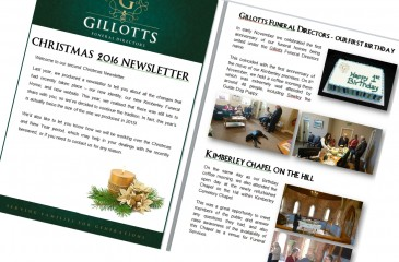 Our Christmas 2016 Newsletter