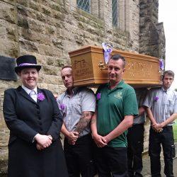 Brinsley coffin walk 2017