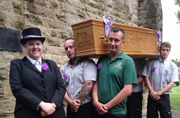 Brinsley coffin walk 2017