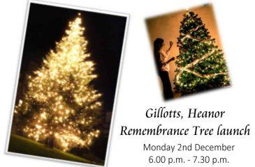 Christmas Memorial Tree launch